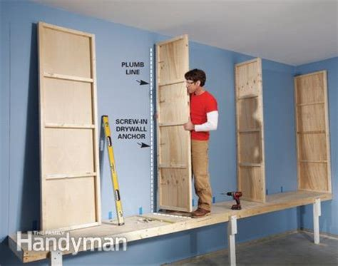 Cheapest Kitchen Cabinet giant diy garage cabinet the family handyman