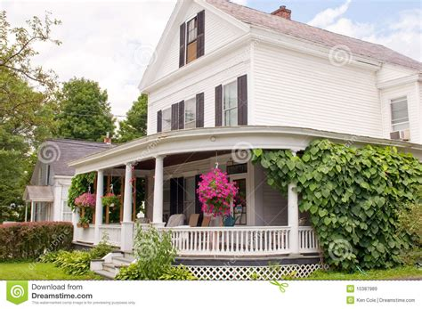House Plans With Wrap Around Porches new england house porch royalty free stock images image