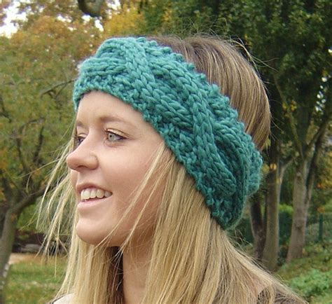 knitting patterns for headbands cable knit headband patterns a knitting