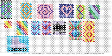 peyote beading patterns peyote stitch craftycraftsblog