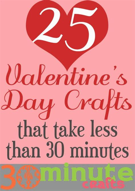 30 minute craft projects 25 s day craft ideas quot popular pins