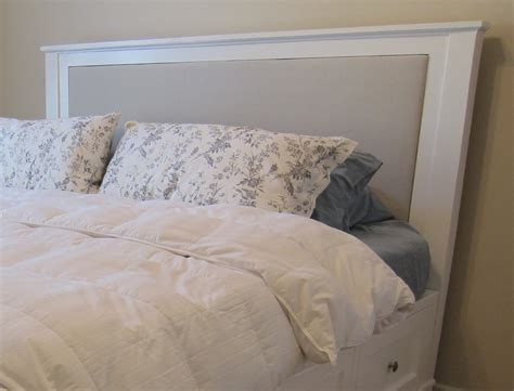 do it yourself bed frame diy king size bed frame part 4 headboard and finished