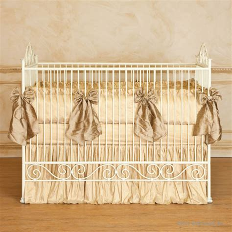 antique baby cribs casablanca iron crib in antique white by bratt decor