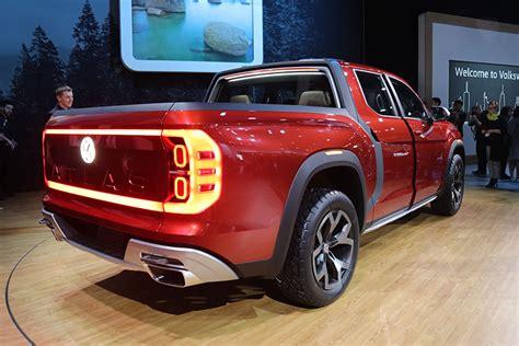 New Volkswagen Truck by 2018 Ny Auto Show Volkswagen Debuts Atlas Tanoak Truck