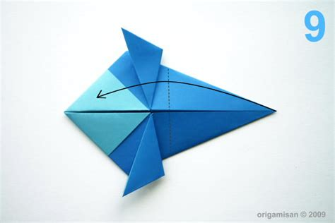 Origamisan Diagrams Origami Sparrow