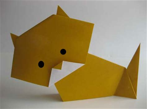 how to make an easy origami cat origami october 2011