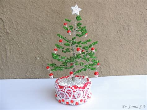 beading tree cards crafts projects beaded tree tutorial