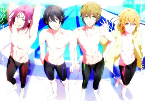 free anime swimming boys by grayxlucy1212 on deviantart