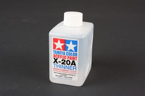 acrylic paint thinning for airbrush tamiya america item 81040 acryl poly thinner x 20a 250ml