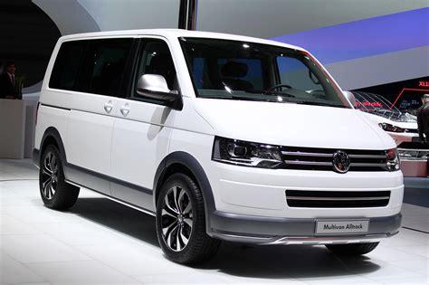 Volkswagen Minivan by Volkswagen Multivan Alltrack Geneva 2014 Photo Gallery