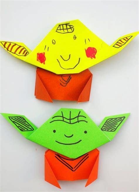 origami yoda easy 25 unique origami yoda ideas on wars