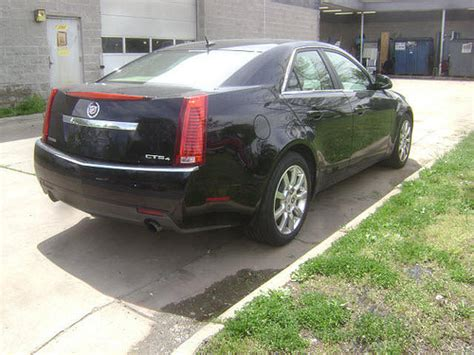 Starling Chevrolet Cadillac by 2008 Cadillac Cts Rear View This Black Cts Is A