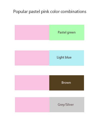 what color goes with pink pastel pink wedding inspirations and color guide