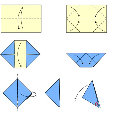 File Origami Paper Popper Type3 Svg Wikimedia Commons