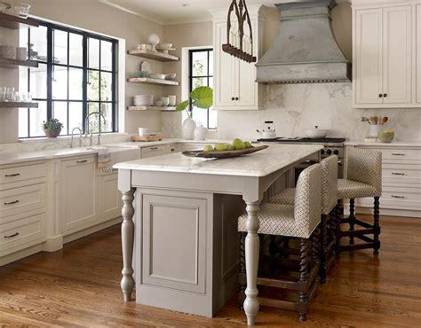 kitchen island leg gray kitchen island with turned legs transitional kitchen