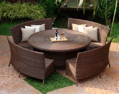 patio table with bench seating dining sets with benches for your outdoor living dining