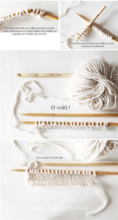 tuto monter des mailles au crochet pour tricoter chouette kit chouette kit