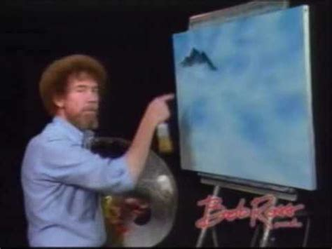tv programm bob ross painting bob ross painting mountains