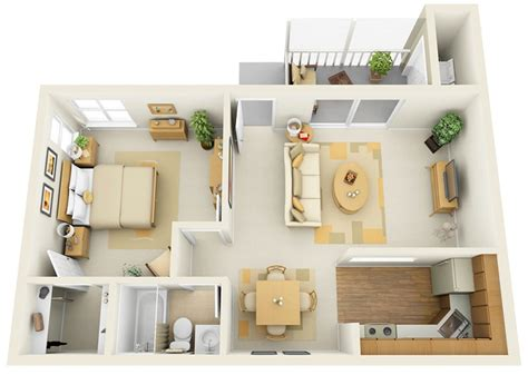 one bedroom flat designs plantas de apartamento de um quarto limaonagua