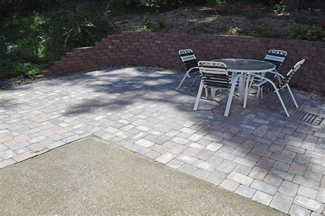 extend patio with pavers west olympia paver patio extension ajb landscaping fence
