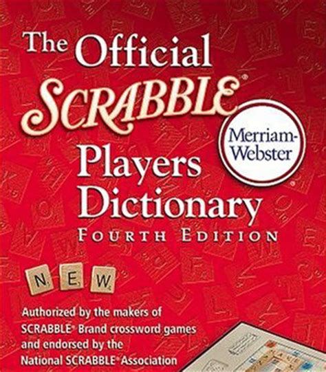 scrabble dictionary re scrabble editions