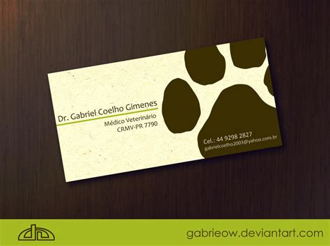 a card vet card by gabrieow on deviantart