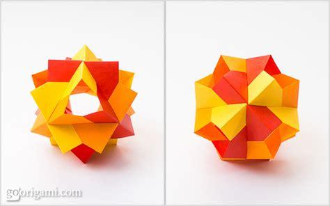 origami polyhedron origami polyhedra gallery go origami