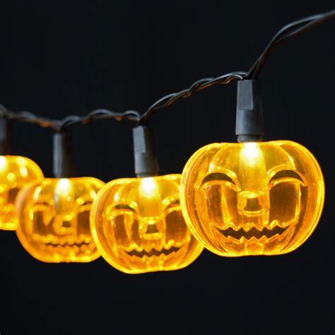 battery operated pumpkins pumpkin led string lights battery operated 10 lights