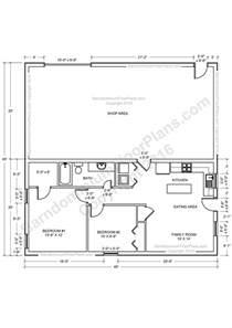 Metal Building Floor Plans With Living Quarters barndominium floor plans pole barn house plans and metal