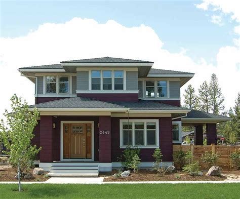 prairie style house plans craftsman home plans collection at eplans
