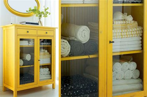 limpiar muebles chalk paint yellow hemnes linen cabinet ikea hack bathroom