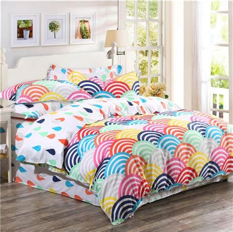 organic cotton comforter sets 2015 organic cotton bedding sets cotton rainbow printed
