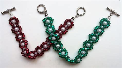 beaded bracelets patterns easy beading pattern for beginners 2 beaded bracelets 1