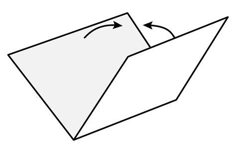 Tiedosto Origami Valley Fold Svg Wikisanakirja