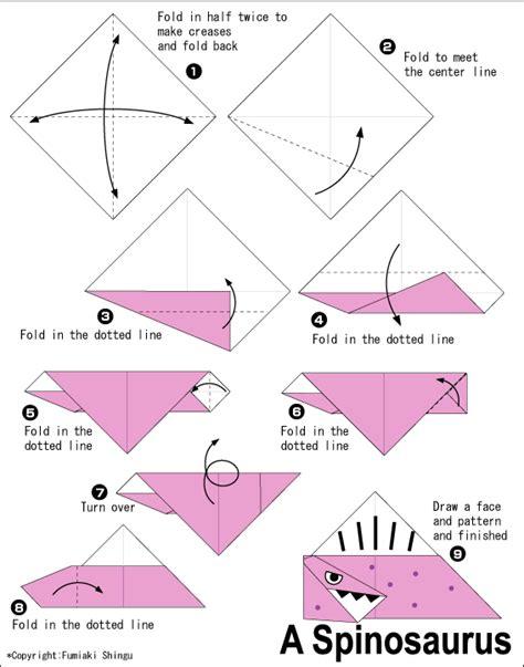 origami easy dinosaur afbeeldingsresultaat voor easy origami dinosaur origami