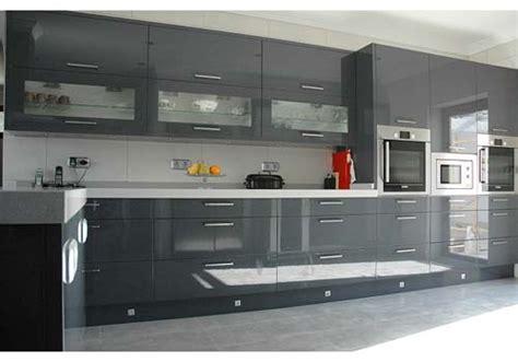 grey gloss kitchen cabinets grey kitchen blanca marbella costa sol