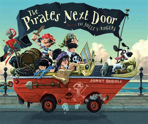 pirate picture books book review review the next door