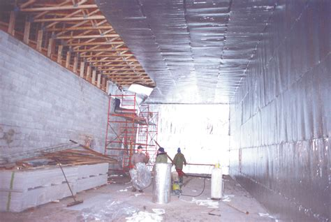 warehouse ceiling foil keep the heat where it belongs with tekfoil reflective