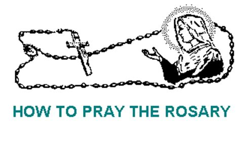 how to use rosary how to pray the rosary