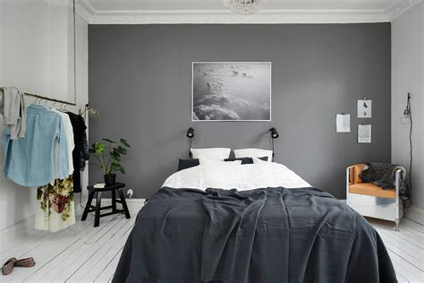 grey wall bedroom bedroom with a grey wall coco lapine designcoco lapine