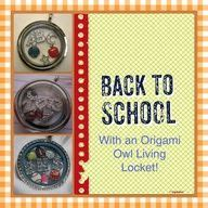back to school origami origami owl on