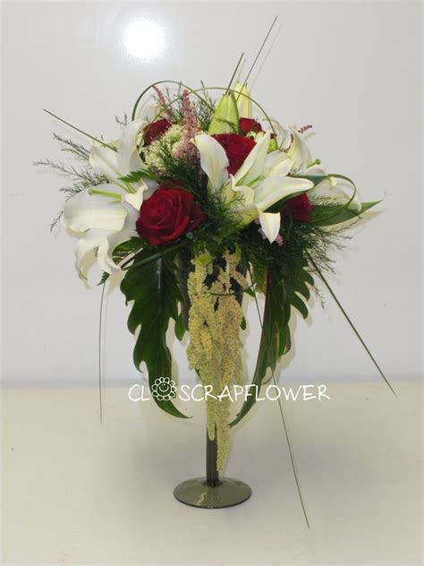 verre 224 pied fleuri closcrapflower
