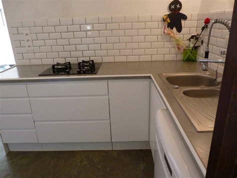 meuble cuisine avec plan de travail maison design