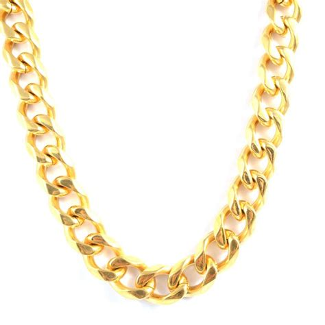 jewelry gold chain thick gold chain link necklace promotion shop for