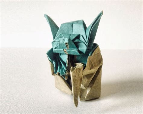fumiaki kawahata origami yoda the most beautiful exles of origami paper