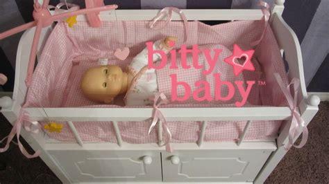 bitty baby crib bitty baby crib unboxing badger basket crib by badger