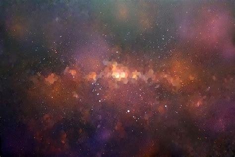 spray paint nebula abstract geometric original contemporary paintings