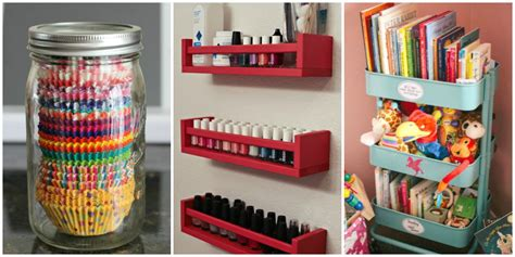 organising ideas repurposed home organizers home organizing hacks and ideas
