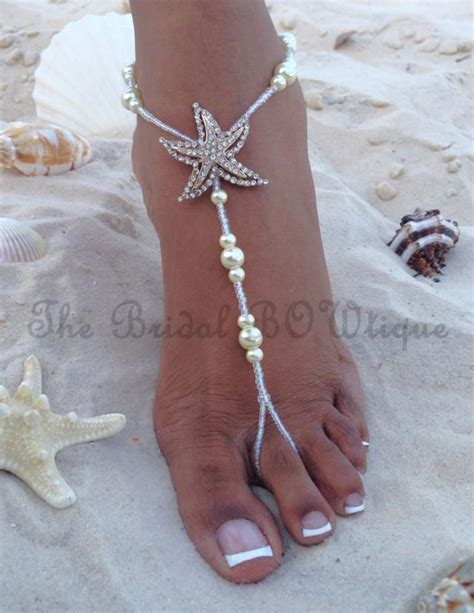 how to make beaded footless sandals starfish barefoot sandals wedding barefoot sandal