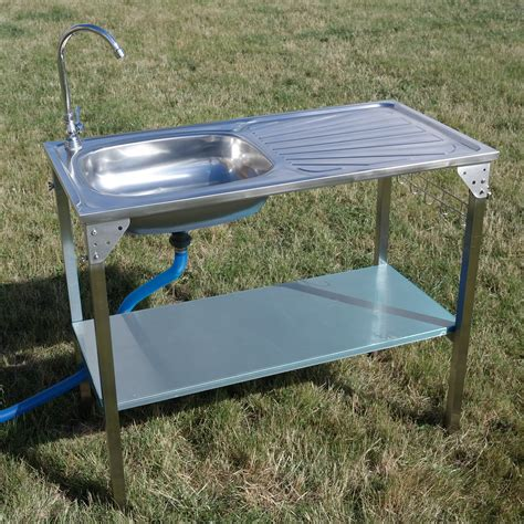portable kitchen sinks outdoor kitchen sink cing unit portable folding ideal